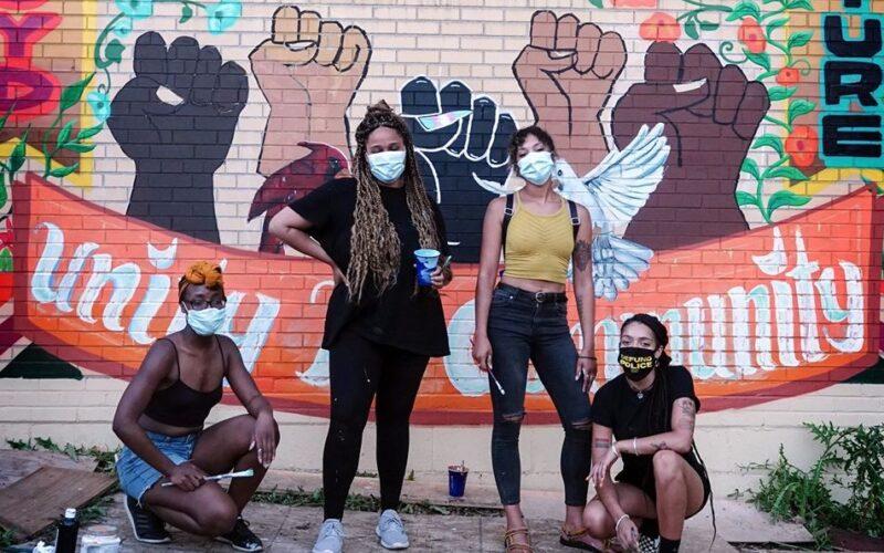 Fierce mural painters